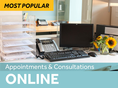 Candida Online Appointments
